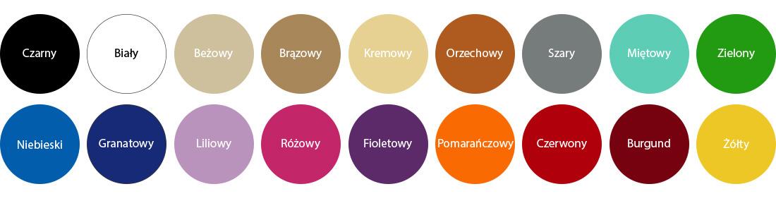kolory naklejki