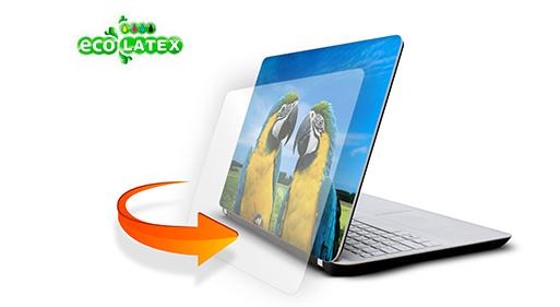 naklejka na laptopa laminowana
