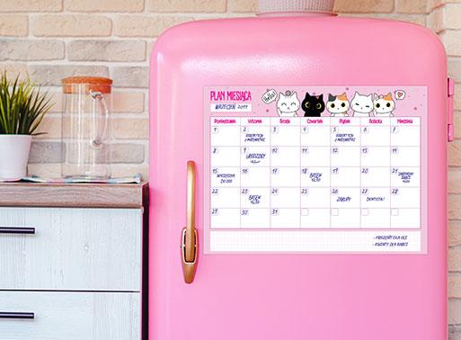 planer na lodówkę
