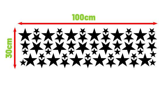 naklejki skandynawskie gwiazdy