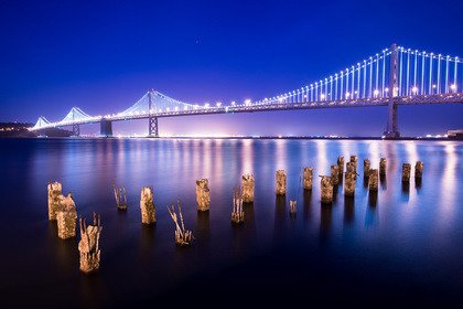 Fototapeta - Bay Bridge - 0666