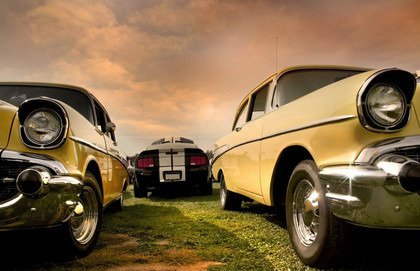 Fototapeta - Best old cars - 0586