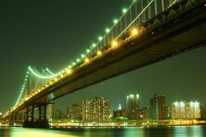 Fototapeta - Manhattan Bridge - 0147