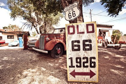 Fototapeta - Old route 66 - 0614